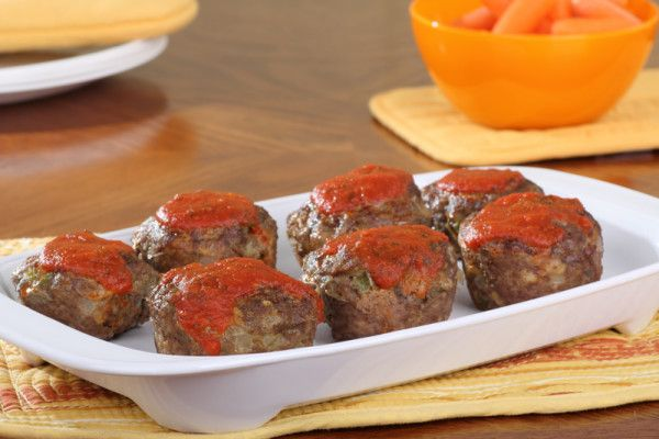 Mini meat loaves via MyFamily.kiwi