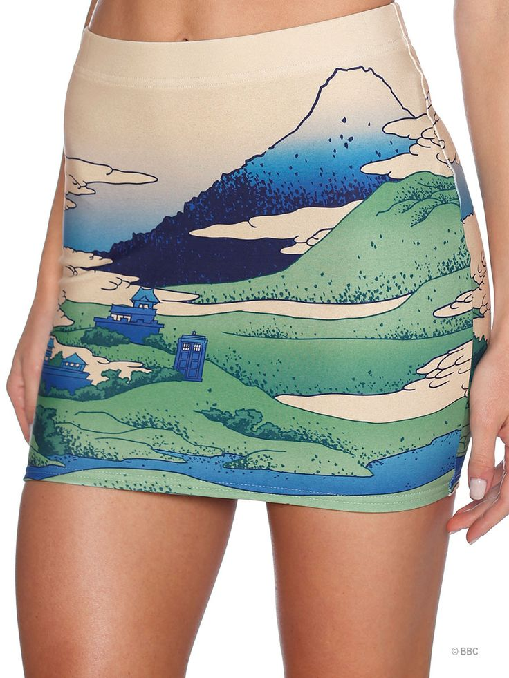 Glitch Wifey Skirt (WW ONLY $60AUD) by Black Milk Clothing