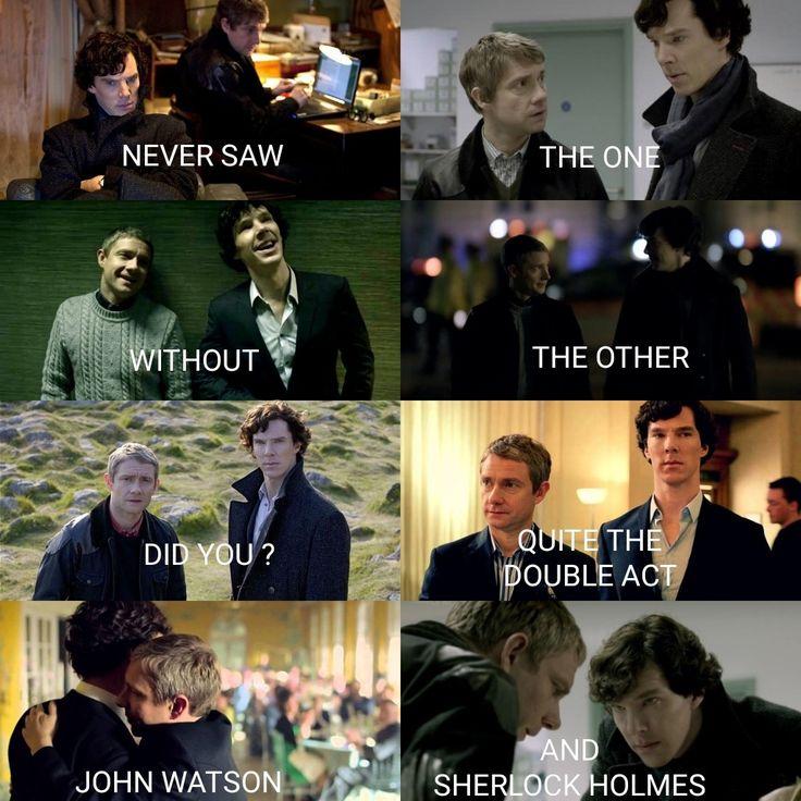 Sherlock Aesthetics Sherlock & John FRIENDSHIP 😍 By Camy Malfoy