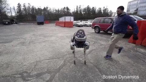 Você pode chutar o cão robótico do Google - ele não vai cair