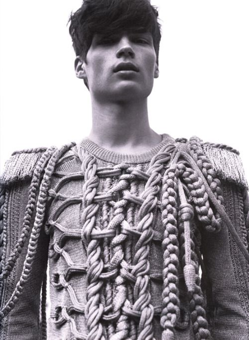 cable for him   Knit   Knitwear   lookbook   editorial   high fashion   tricot