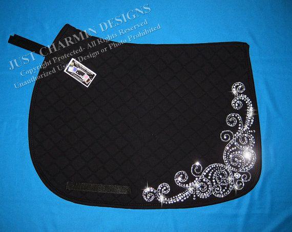 JCD- Just Charmin Designs- Crystal Bling English Dressage ...