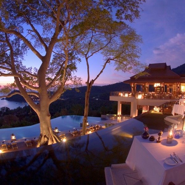 Luxurious Pimalai Resort in Thailand ~ I'm feeling zen just looking at this photo