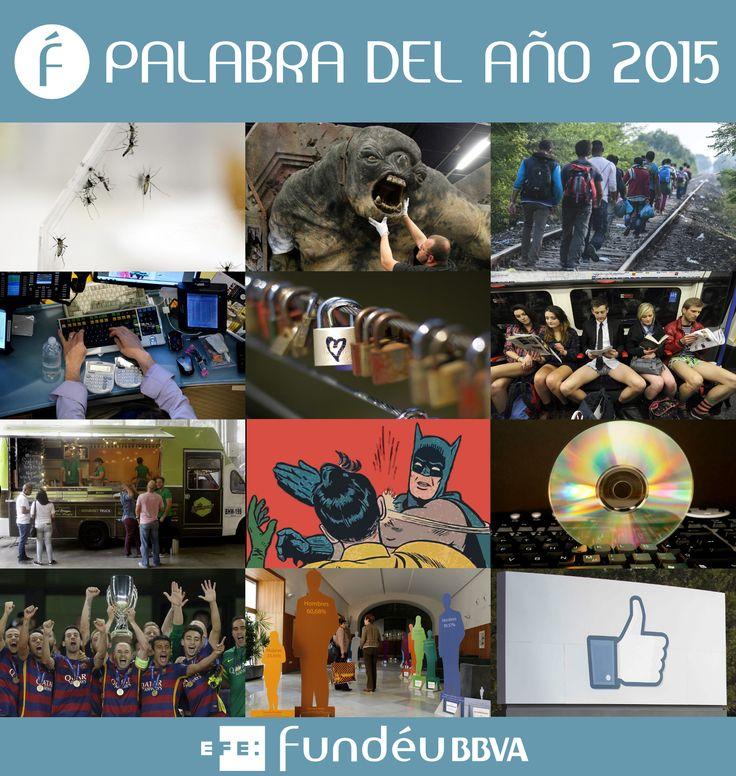 Un año más elegiremos la palabra del año. Puede ver cuáles son las doce candidatas en nuestra página http://www.fundeu.es/palabra-del-anno-2015/