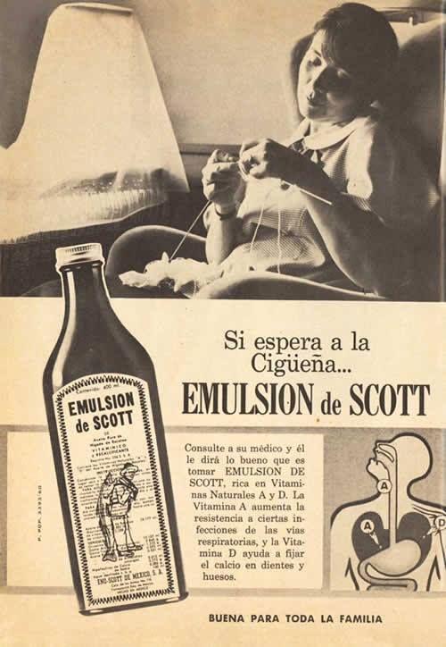 PUBLICIDAD DE LA EMULSION DE SCOTT