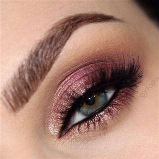 Rose Gold Eyes #eyeshadow #rosegold #motives www.pampadour.com