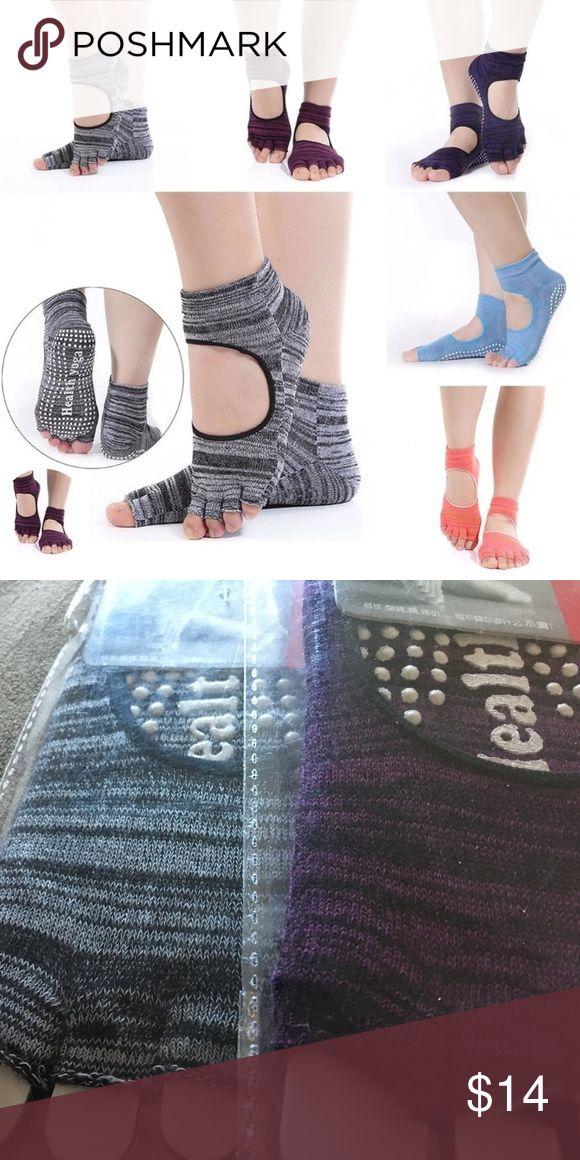 Non Slip Skid Toeless Grip Socks Non Slip Skid Toeless Grip Socks For Yoga. Accessories Hosiery & Socks