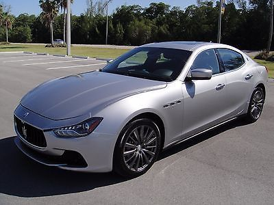 2016 Maserati Ghibli  Low Mileage in MINT condition! $76k MSRP