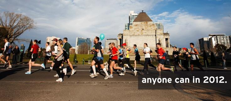 Run Melbourne half marathon, Sunday 15th July 2012