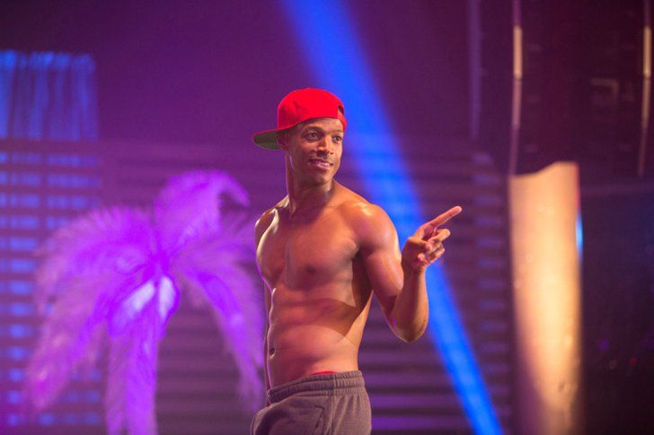 Pin for Later: A Necessary Roundup of 2016's Hottest Shirtless Movie Moments Fifty Shades of Black Forget Christian Grey — Christian Black (Marlon Wayans) is where it's at.
