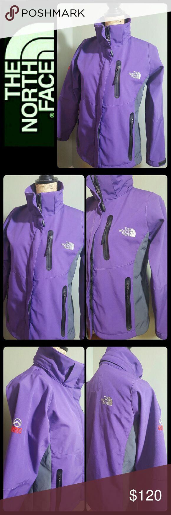 North Face Women's Summit Series Jacket The North Face Signature in Summit Series Collection! Perfect Everyday Use Around Town, Waterproof Jacket, Gorgeous in Purple Shade with Gray Accent! Size S, Used in Excellent Condition! North Face Jackets & Coats