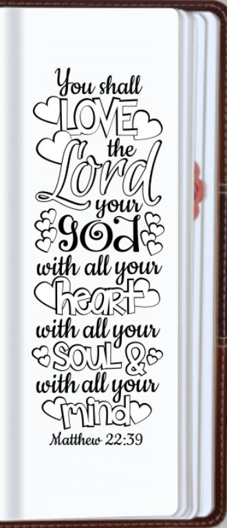 "Matthew 22:37 ""You shall love the Lord your God with all your heart, with all…"