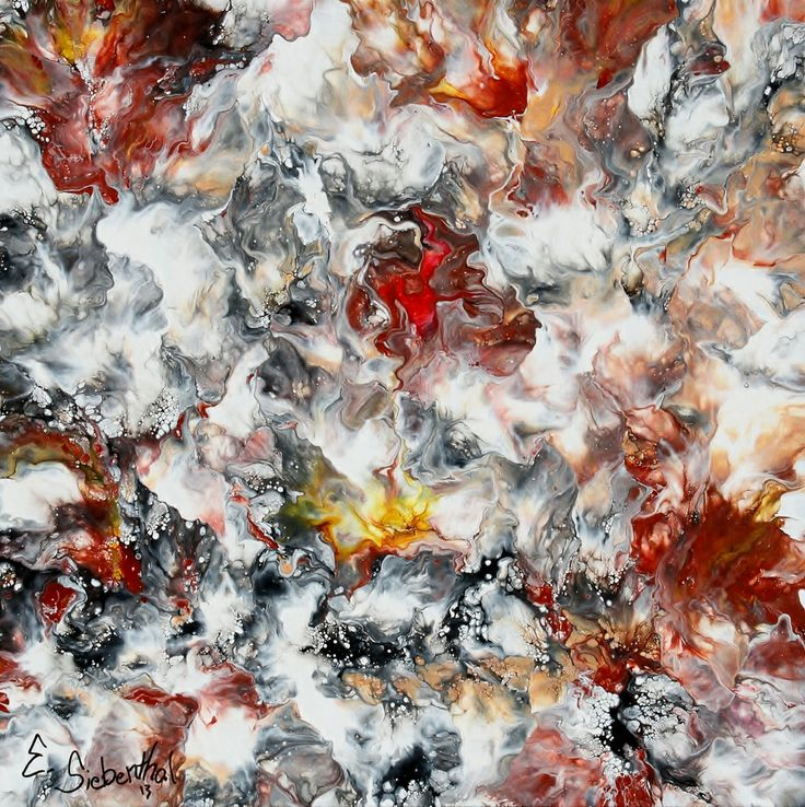 Veins of Life - Abstract Art - Acrylicmind.com is my site. Painting is a passion, an addiction that will not be easily overthrown. ~ Eric Siebenthal