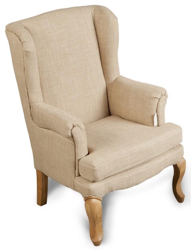 Kinderstoel hoog model beige