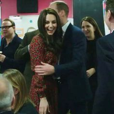 The Duke and Duchess on 19th December 2016. They're so adorable ❤