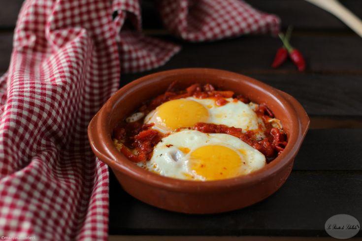 Uova+alla+messicana+-+Huevos+rancheros