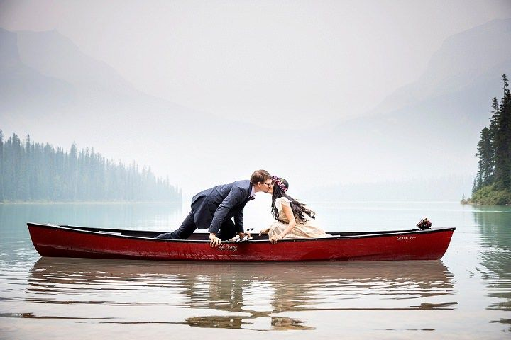 Jessica and David's Beautiful Mountain Elopement By Kim Payant Photography