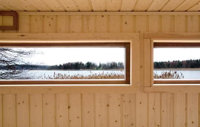 sauna interior, sauna window, DW-SAUNA