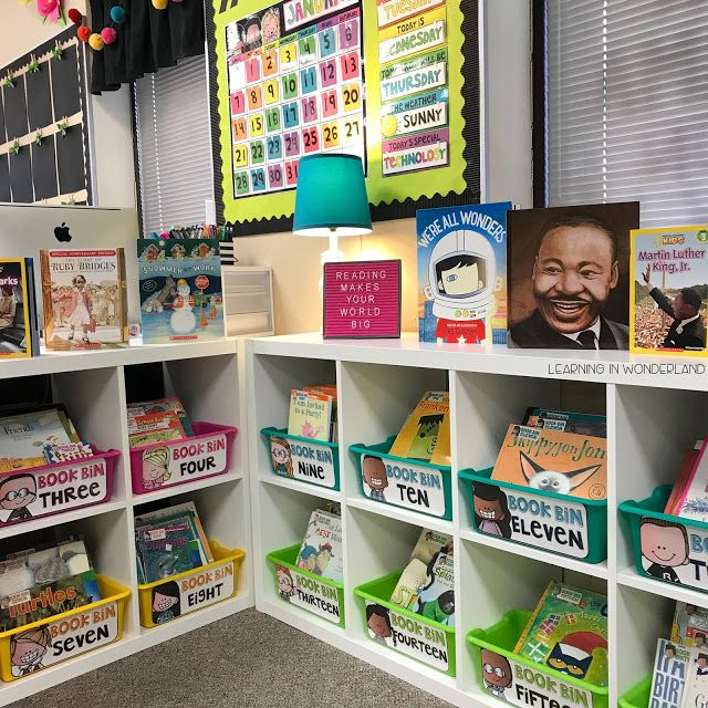 Library Organization for the Primary Teacher - Learning In Wonderland