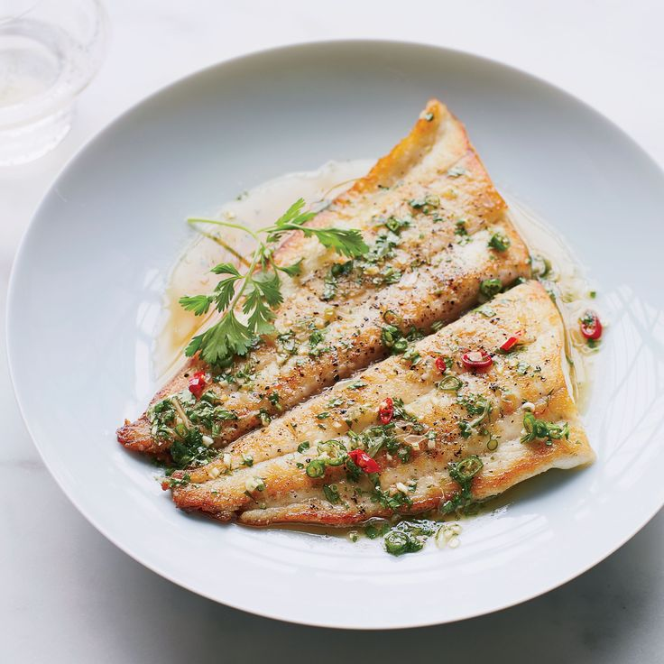 For this healthy fish recipe, chef Kuniko Yagi tops seared sole with a supereasy Thai-inspired sauce that gets vibrant flavor from chiles, lime and cilantro. Get the Recipe with Food & Wine.