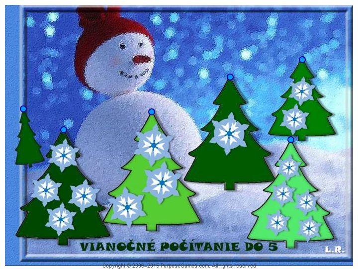 Viaočné počítanie do 5 (snehové vločky) http://www.purposegames.com/game/vianocne-pocitanie-do-5-snehove-vlocky-quiz