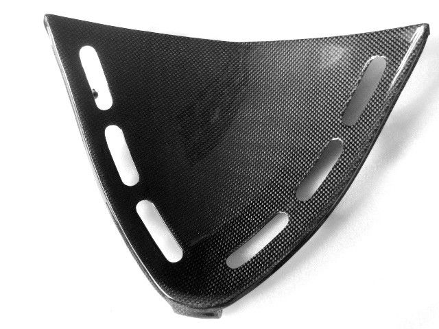 MDI Carbon Fiber Triangle Fairing for Kawasaki ZX 12R. - All our carbon fiber Triangle Fairing are made with an Autoclave process, which uses the highest quality TORAYCA® PREPREG carbon fiber fabric f