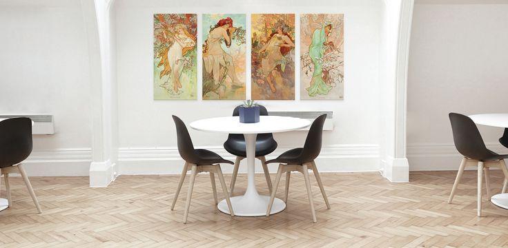 Alfons Mucha- The Seasons