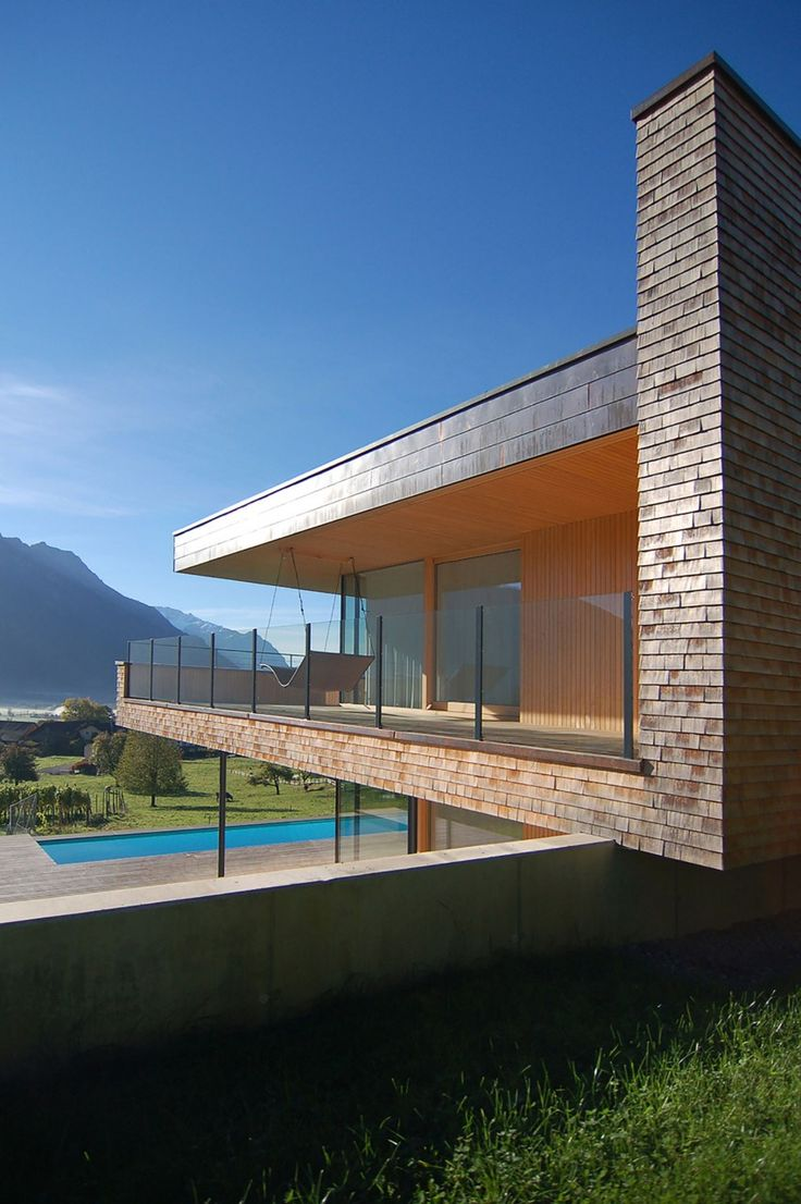 Single Family Home In Schaan By K M Architektur Single