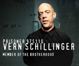 JK Simmons-Vern Schillinger- Leader of the White Supremacist  I despised this man!!