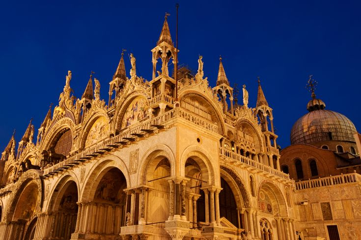 Visit the famous St. Mark's Basilica of Venice... *after* it's closed to the general public for the evening! Click the photo to find out how.