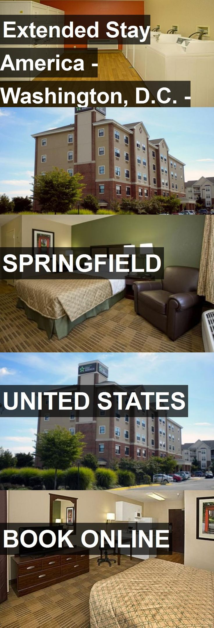 Hotel Extended Stay America - Washington, D.C. - Springfield in Springfield, United States. For more information, photos, reviews and best prices please follow the link. #UnitedStates #Springfield #ExtendedStayAmerica-Washington,D.C.-Springfield #hotel #travel #vacation