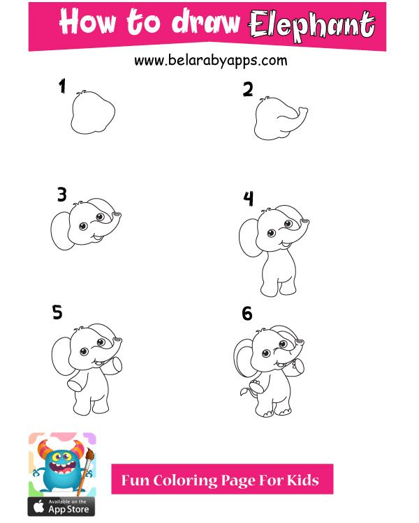 How To Draw Cute Animals Easy 2020 Belarabyapps Drawing For Kids Cute Drawings Cute Animals