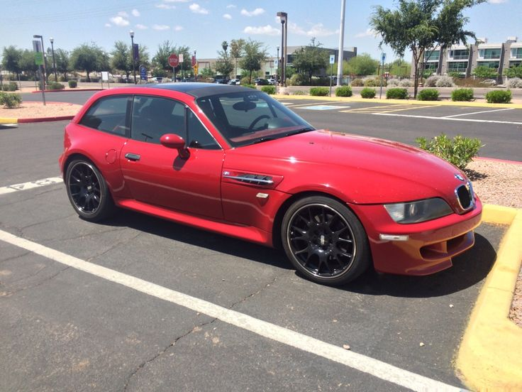 Found this red BMW z3 m coupe today (With images) Bmw z3