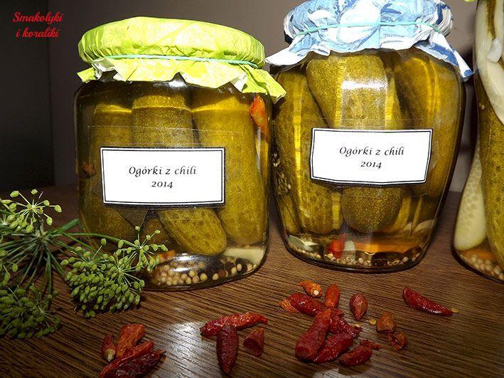 Ogórki konserwowe z chili | Smakołyki i koraliki