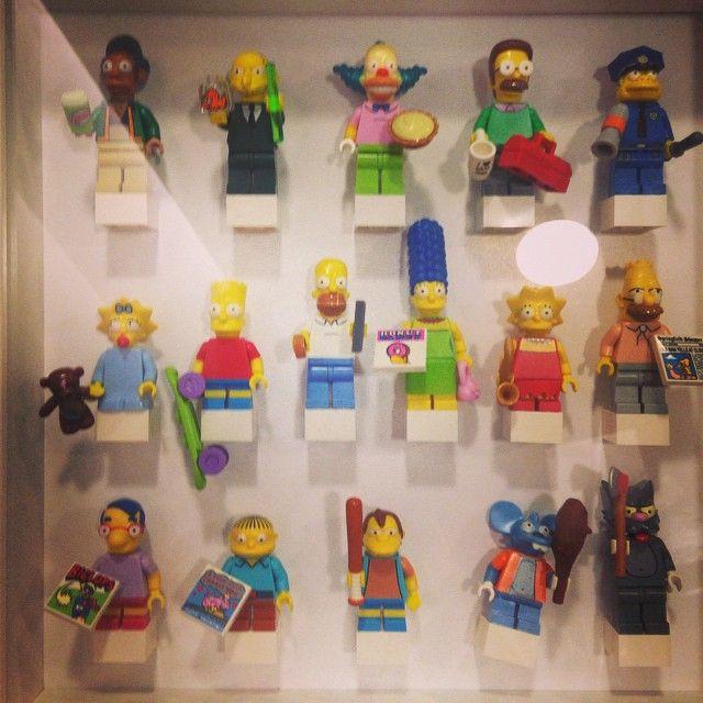 Haha #simpsons #simpsonslego #lego #family #辛普森樂高