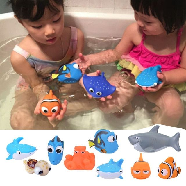 Toys & Hobbies Reasonable Cartoon Animal Baby Bath Toy Water Sprayed Swimming Bathing Educational Toys For Toddler Children Funny Water Sprayer