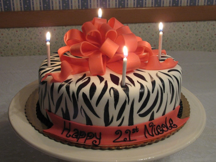 Images Of Cake For Niece : My niece s 21st birthday cake Happy Birthday ...