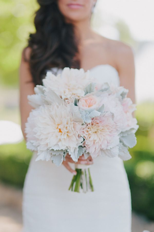 #dahlias and #rose #bouquet Photography: Jake and Necia Photography - jakeandnecia.com, Florals by http://www.adornmentsflowers.com