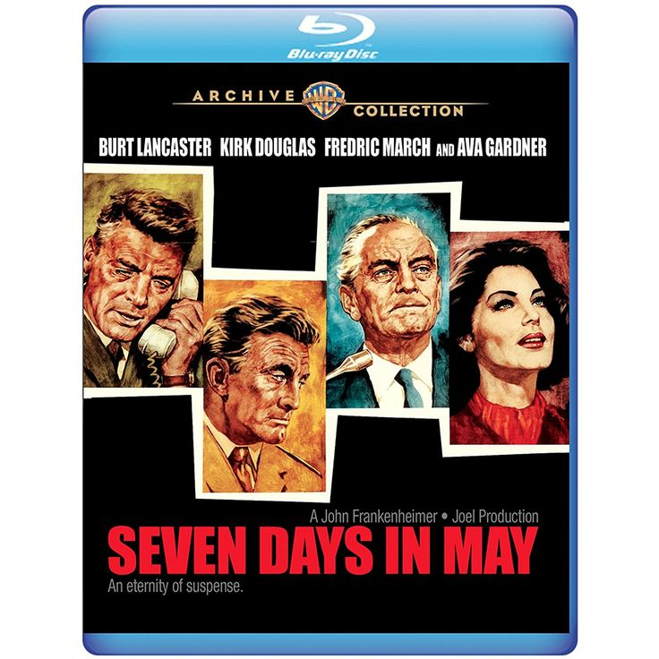 Seven Days in May - Blu-Ray (Warner Archive Region Free) Release Date: May 2, 2017 (Amazon U.S.)
