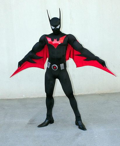 Superhero Morphsuits: How to Create a Batman Beyond Costume