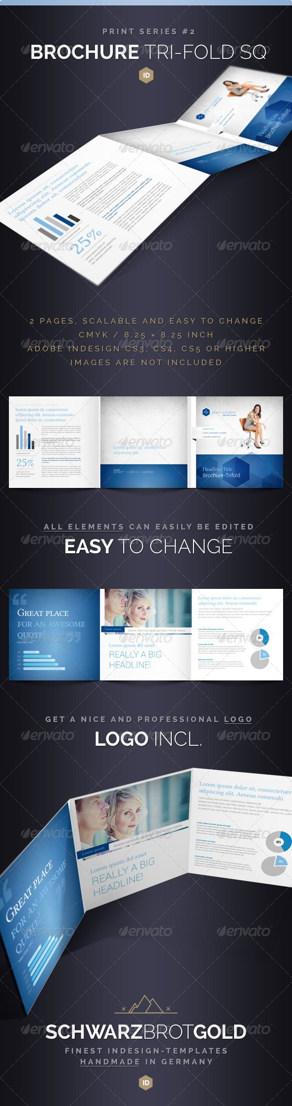 multi page brochure template free - 17 best images about print templates on pinterest fonts