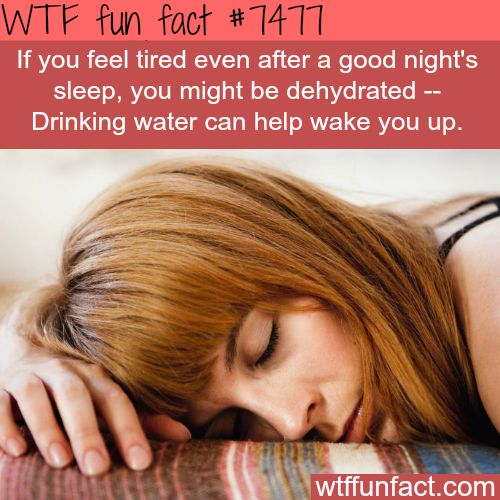 If you are feeling tired, try this - FACTS