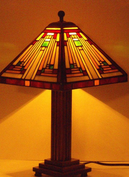 17 Best Images About Stained Glass Lamp Shades On