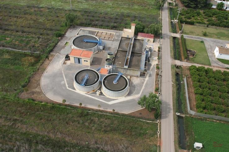 EDAR de Moncofa -Castellón- (C.Valenciana) Gestionada por FACSA