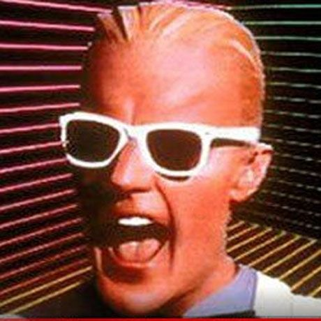 "Matt Frewer is best know for his futuristic and glitchy character in the 80's TVs show ""Max Headroom."""
