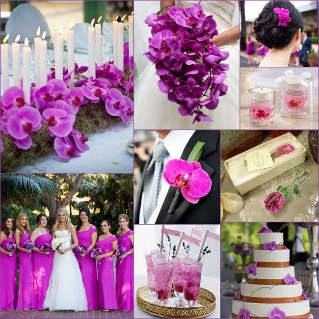 2017 Radiant Orchid Wedding Inspirations