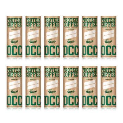 Nocco Protein Coffee är en kaffedryck med hela 20 gram protein per burk (235 ml)! Lämpar sig utmärkt vid träning eller varför inte som morgonkaffe?