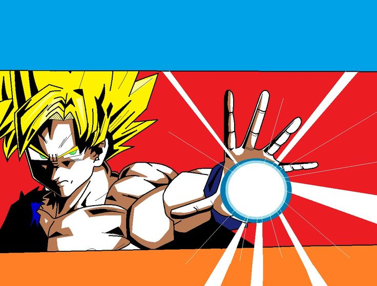 DBZ made in Paint!
