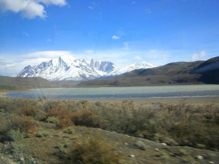 Parque Nacional Torres del Paine  Laguna Amarga (única laguna salada del parque)