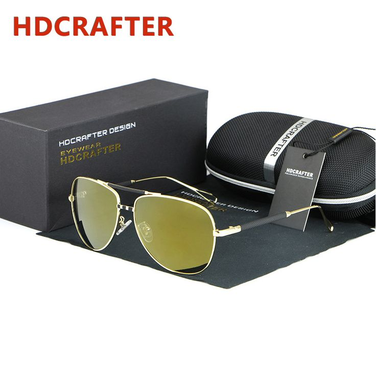2016 New TAC Yellow Lens Sunglasses Men Polarized Aviator Sunglass UV Protection Fishing Shades Sun Glasses with Case Oculos Bal?k tutma yemler sailfish *** AliExpress Affiliate's buyable pin. View the item in details on www.aliexpress.com by clicking the VISIT button #FishingEyewear